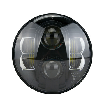 Hot sale  CJ TJ JK Har-ley Hummer Landrover 7inch round beam headlight 12v 24v
