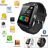 2016 hebrew language u8 smart watch 1.54inch touch screen bluetooth wrist watch mobile phone