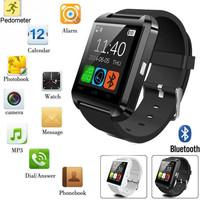 2017 hebrew language u8 smart watch 1.54inch touch screen bluetooth wrist watch mobile phone