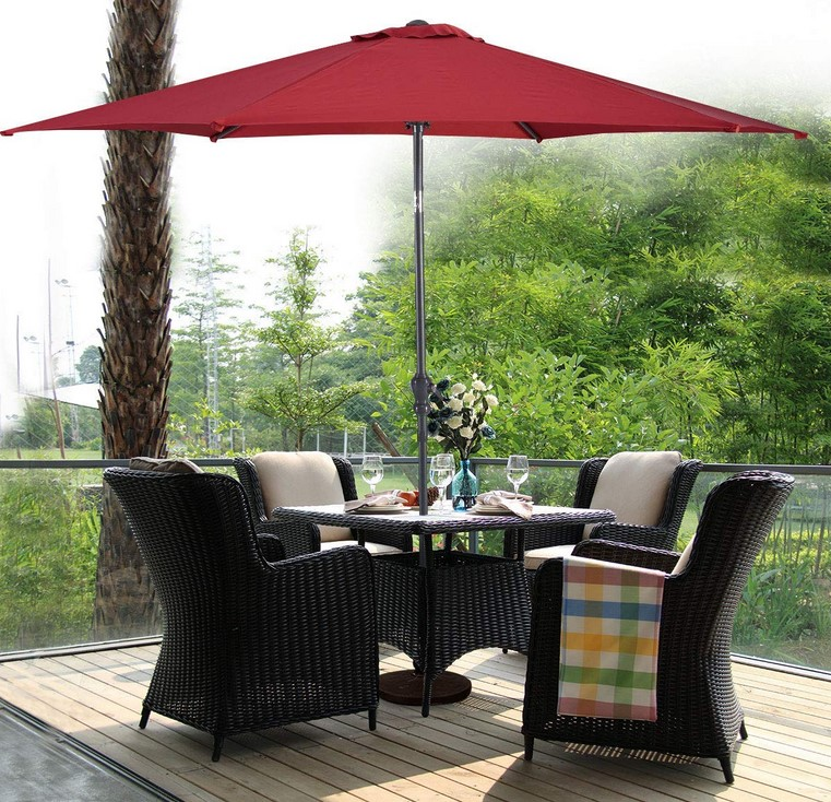 High Quality Durable UV-proof Outdoor standing garden  umbrella