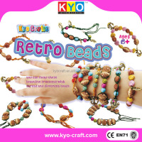 HKKYO professional making rubber band bracelets with loom making for kids