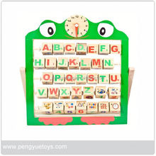 Wholesale Eco-friendly wooden alphabet rack