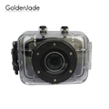 "2.0"" Touch Screen 120Degree Wide Angle lens 720P 1.3MP h.264 10M underwater Cheap Waterproof Sport Camera"