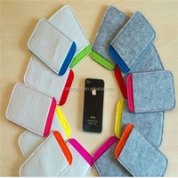 Hot sale eco-friendly felt mobile phone case