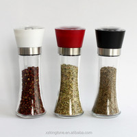 Nice hot sale table pepper grinders portable spice mills used in kitchen