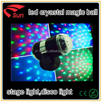 Led crystal magic ball , stage effect light disco light , DJ light