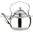 LTK162 long spout silver arabic tea pot