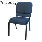 YC-G39-11 Hot Sale Stackable Interlocking Full Back Church Chair for Church Furniture