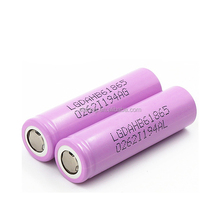 Top seller genuine LG HB6 18650 1500mAh 30A 3.7V battery with high quality