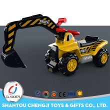 2017 new design ride on car slide kids ride on toy excavator for sale