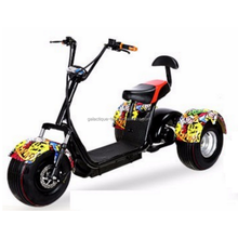 2017 Top Class Quality 3 Wheel Electric Bike/Scooter/Motorcycle Citycoco Scooter