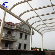 Hangmei 2018 newest clear terrace awning/balcony awning/pergola awning