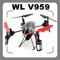 2014 newest WL Toys V959 4CH 2.4Ghz 4-Axis RTF QuadCopter (Built w/ Camera)