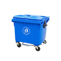 Wholesale price advertising waste bin with lid for outdoor use