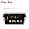 "DASAITA Android 8.0 9"" Car radio stereo player with DVD Navigation for Peugeot 301"