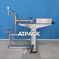Atpack high-accuracy semi-automatic Rose Ingredient Pure Rose Water filling machine with CE GMP
