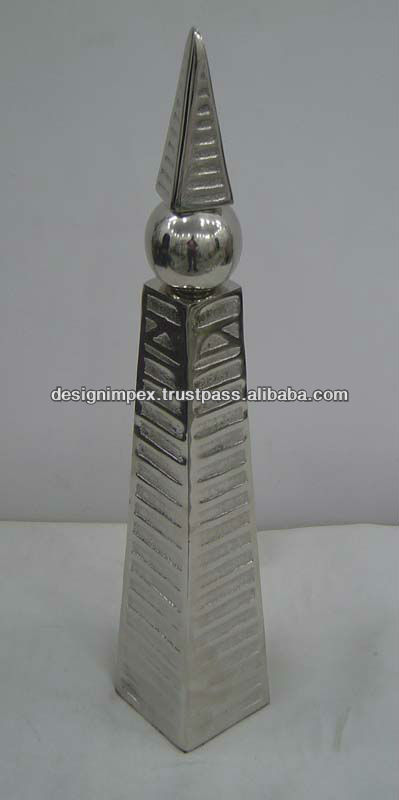 Cast Aluminum Decorative Al- Faisal Tower (Riyadh)/ Home Decor/ Table top for Home/ Hotel/ Office / promotional & Corporate Gift