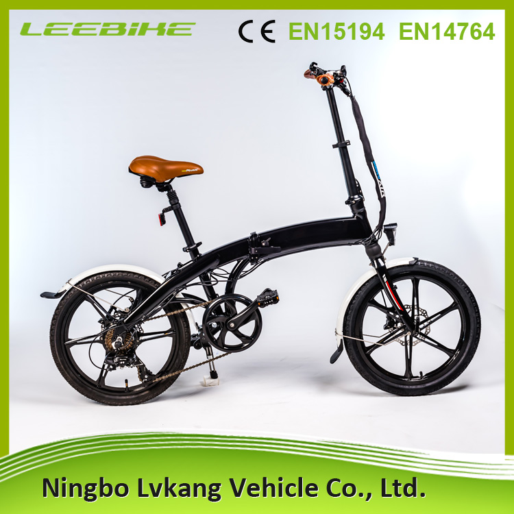 20inch stylish folding electric bicycle with 250W motor and alloy frame