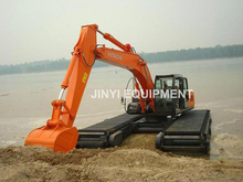 JYSL330 Amphibious swamp excavator with HITACHI ZX330-5A superstructure