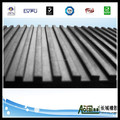 Top selling fine ribbed rubber flooring mat