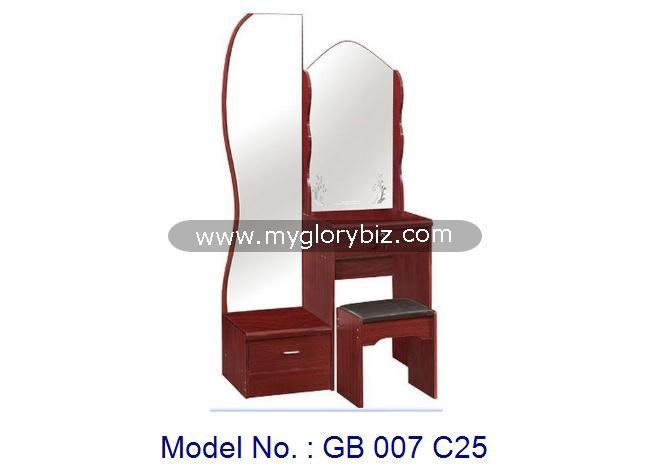 Modern Mirrored MDF Make Up Table Wooden Bedroom Furniture, dressing table designs, modern dresser with mirrors, make up tables