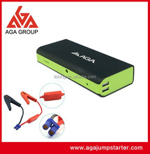 16000mAh OEM power booster for motorcycles / multi-function jump starter / powerful mini auto lithium tool for car battery