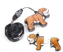 Real full capacity 16GB 32GB Cartoon Bulldog usb flash drives pendrives memory stick,Mini coopper Usb Drive for BMW's gifts