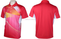 mens high quality custom dri fit polo shirts sublimation