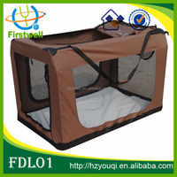 fabric double dog kennel