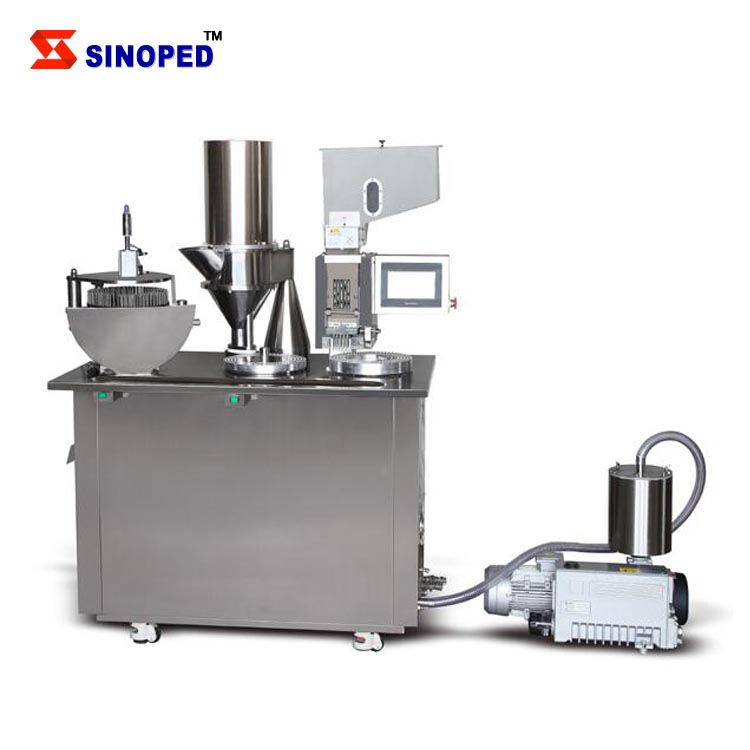 Sinoped Hot Sale Cheap Price Vacuum pump Evacuating rate 40m <strong>3</strong> per hour Semi-automatic Capsule Filling Machine