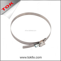 quick releasing hose clamp