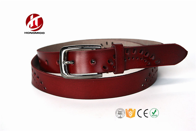 2017 New Good Design Fashion Leather Waist Belt With Women Shirt