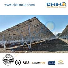 10 kw ground solar panel mounting with ground screw