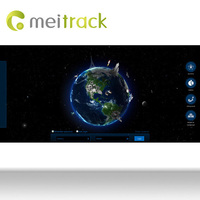 Meitrack software monitoring gps tracking software for Fleet Management with Android style UI design Customization accepted MS03