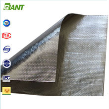 Hot Sales Factory Supplied double sided reflective aluminum foil insulation, heat insulation foil
