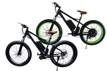 "26""*4.0 inch 48v1000w fat tire electric bike"