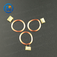 Low cost rfid antenna air inductance id card reader coil
