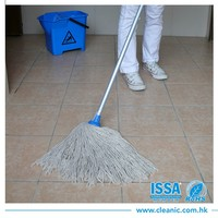 Good quality colorful cotton wet floor mop