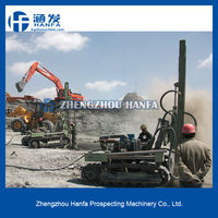 Most portable and economic!HF100YA2 portable milling machine & deep hole drilling machine tool