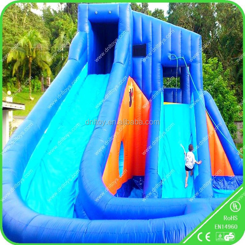 inflatable Christmas toy bouncer house water slide
