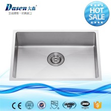 NEW PREMIUM VEGETABLE SMALL HAND WASHING SINGLE BOWL KITCHEN SINK STAINLESS STEEL BASIN