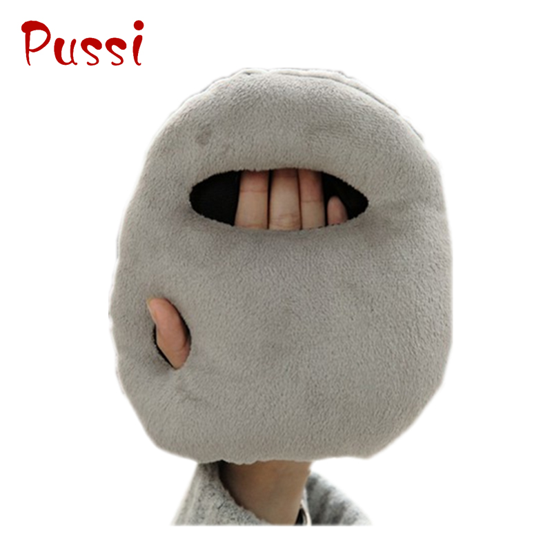 Custom mini plush ostrich siesta pillow