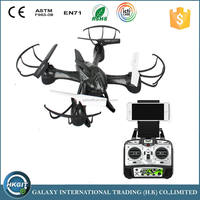 Wholesale drone remote control helicopter toys 4-Axis Sky Hawkeye RC Quadcopter kit with camera and WIFI
