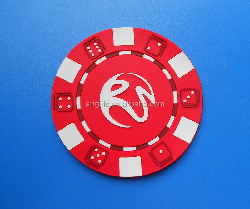Hot Sale Game Dice Cup Mat, Custom Eco-friendly PVC Round Cup Mat