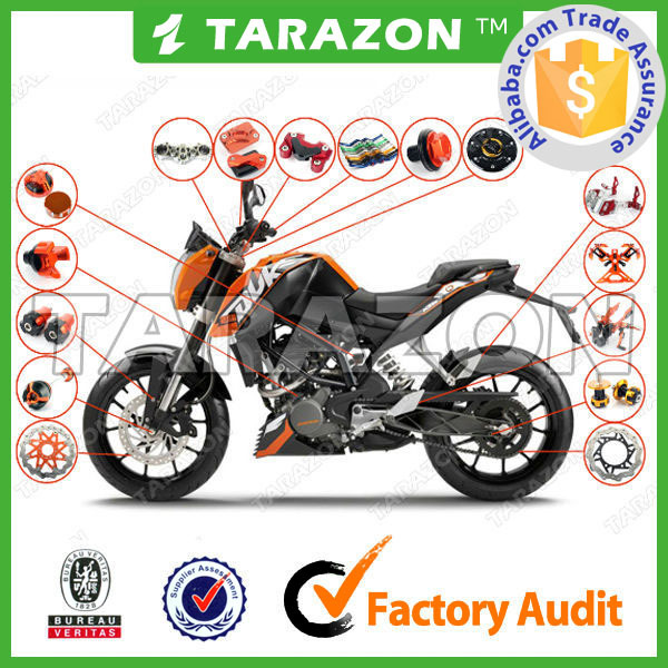 China Supplier Aftermarket Parts for KTM Duke 125 200 390 690