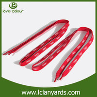 Cheap custom round shoelaces red shoe lace