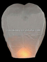 OEM biodegradable luminary sky lantern