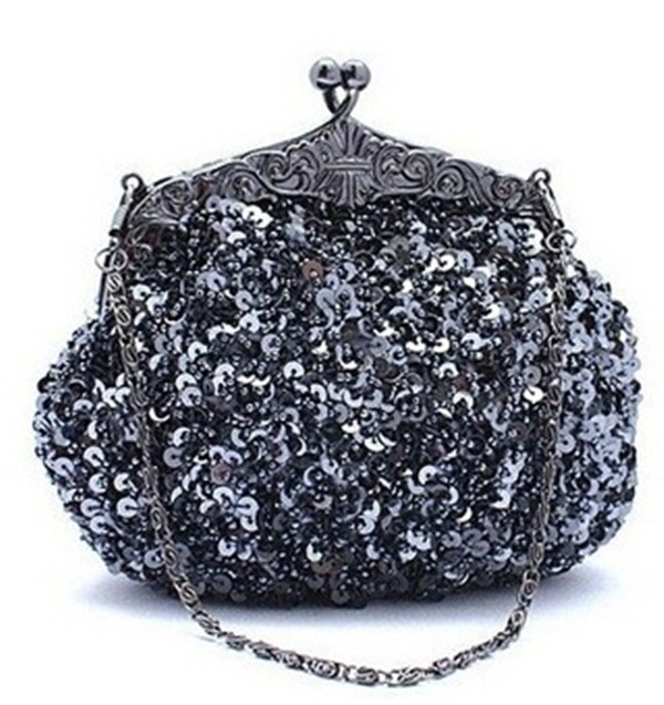 lady evening bag 2013 new design fashion shoulder bags metal frame
