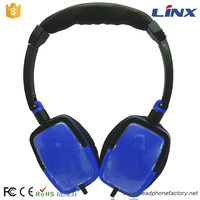 Best selling consumer electronics blue good sound quality earmuff headphone