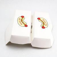 Quality-assured eco-friendly paper hot dog box
